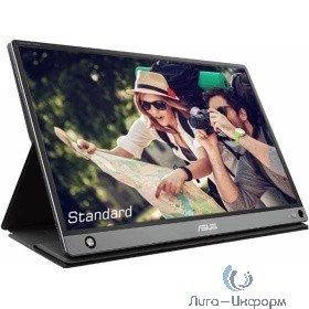 """ASUS LCD 15.6"""" MB16AMT DarkGrey Touch {IPS 1920x1080 5ms 178/178 250cd HDMI USB}"""