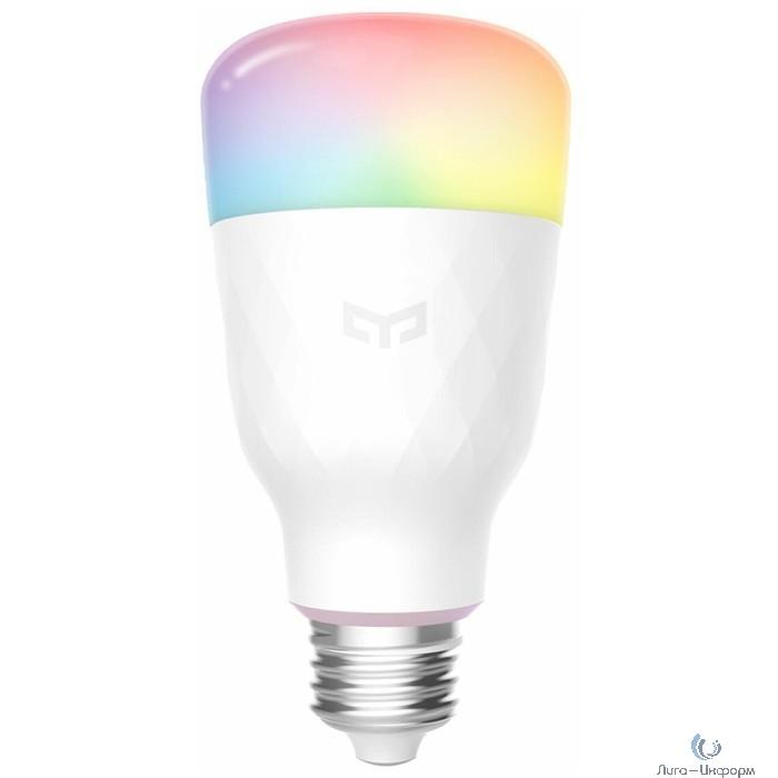 Лампочка Xiaomi Yeelight Smart Led Bulb 1S (Multiple Color) (E27) (YLDP13YL), белый