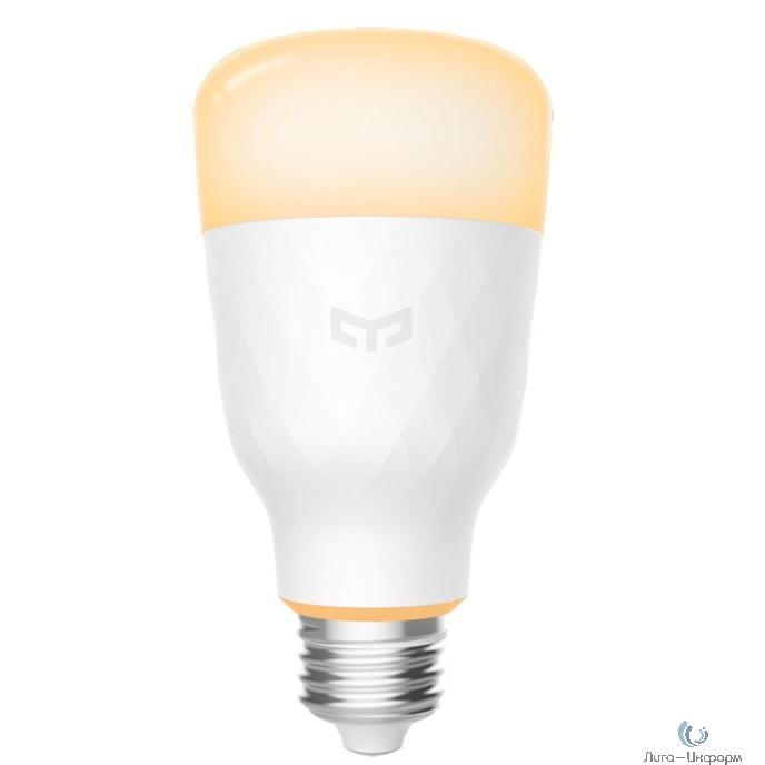 Лампочка Xiaomi Yeelight Smart Led Bulb 1S (WHITE) (E27) (YLDP15YL), белый