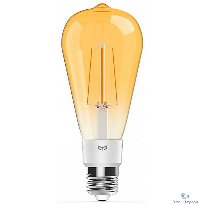 Лампочка Xiaomi Yeelight Smart LED Filament Bulb ST64 (E27) (YLDP23YL). белый