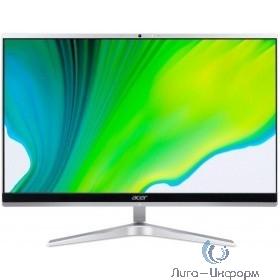 "Acer Aspire C24-1650 23.8""{ Full HD i3 1115G4 /8Gb/SSD256Gb/Endless/клавиатура/мышь/Cam} серебристый [DQ.BFTER.002]"