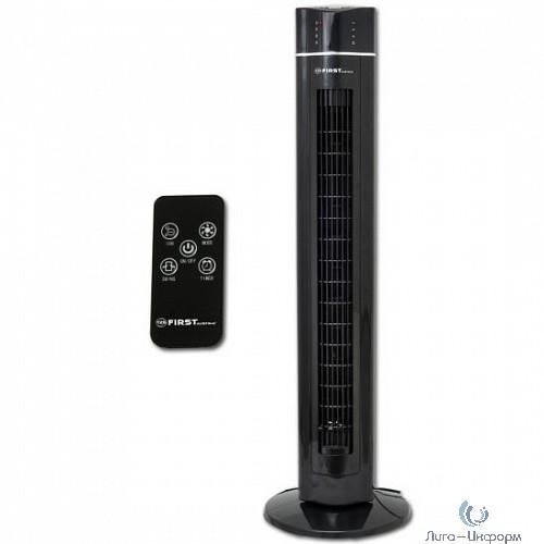 FIRST (FA-5560-2BK) Вентилятор напольный, Мощность  60 Вт.Пульт дистанционного управления, черный