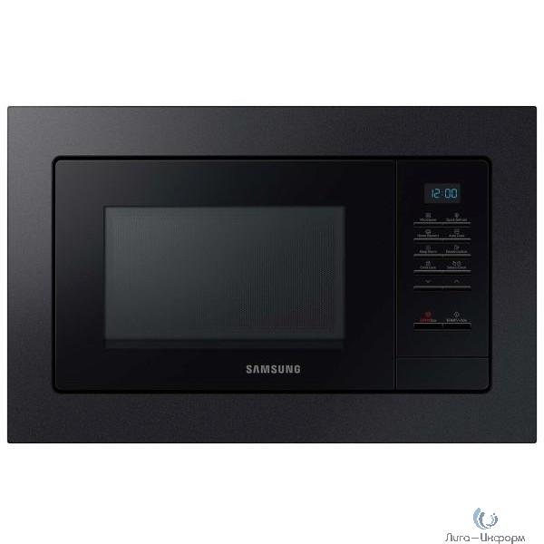 Микроволновая печь Samsung MS20A7013AB/BW черный (встраиваемая)