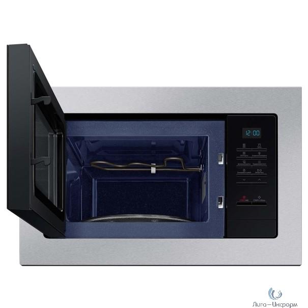 Микроволновая печь Samsung MG20A7013AT/BW черный (встраиваемая)