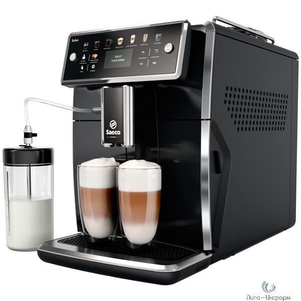 Кофемашина Saeco Xelsis SM7580/00 черный