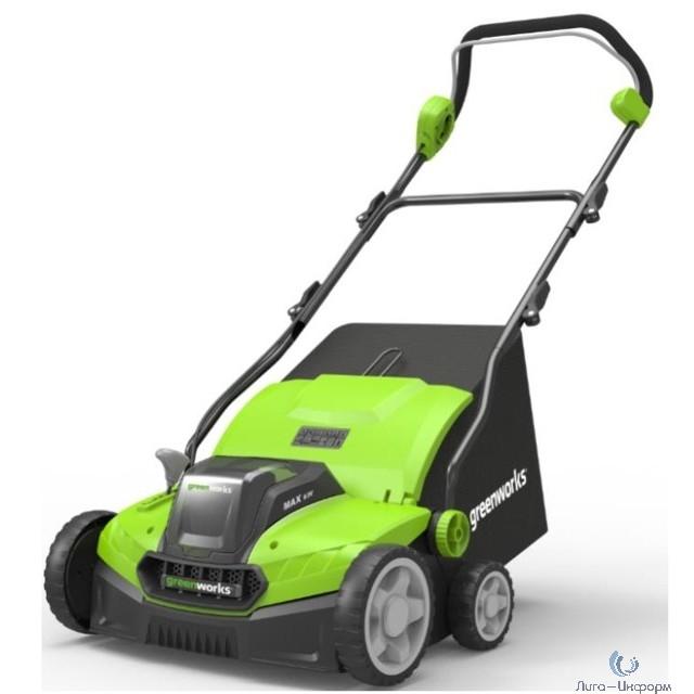 Greenworks Аэратор-скарификатор электрический Greenworks , 1500W, 36 см [2515507]