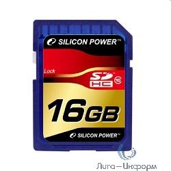 SecureDigital 16Gb Silicon Power SP016GBSDH010V10 {SDHC Class 10}
