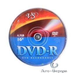 DVD-R Диски VS 4.7Gb, 16x, Сake Box 50шт.