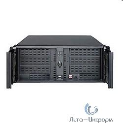 """Procase AE400L-B-0 черный {4U глубина 660мм, внешн 6x5.25, 2x3.5, внутр 2xHDD, MB 12""""x13"""", без Б/П PS2}"""