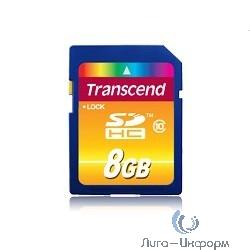 SecureDigital 8Gb Transcend TS8GSDHC10 {SDHC Class 10}