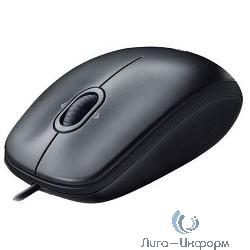 910-001604 Logitech Mouse M100 USB Dark, RTL