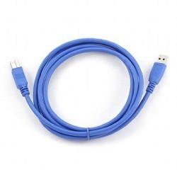 Gembird CCP-USB3-AMBM-6 USB 3.0 PRO  кабель для соед. 1.8м AM/<wbr>BM  позол. контакты, пакет