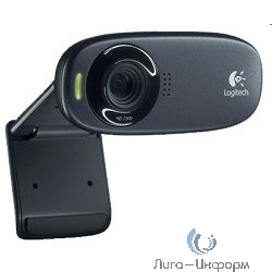 960-001065 Logitech HD Webcam C310, USB 2.0, 1280*720, 5Mpix foto, Mic, Black