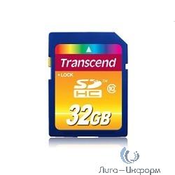 SecureDigital 32Gb Transcend TS32GSDHC10 {SDHC Class 10}