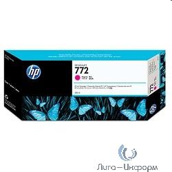 CN629A HP картридж №772 пурпурный для DJ Z5200 (300 мл)