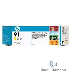 C9469A HP картридж  91  Pigment (775 мл) Yellow для DJ Z6100