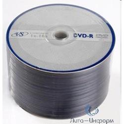 DVD-R диски 4,7Gb 16х VS, 50шт, Bulk (тех. уп-ка) ( VSDVDRB5001/VSDVDRB5003)