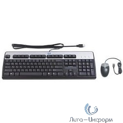 638214-B21 HP USB Keyboard and Optical Mouse Kit Russian