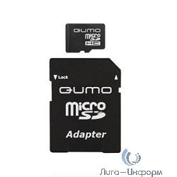 Micro SecureDigital 32Gb QUMO QM32(G)MICSDHC10 {MicroSDHC Class 10, SD adapter}