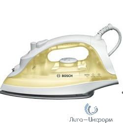 BOSCH TDA2325 Утюг, керамическое покрытие, 1800 Вт,  желтый/белый