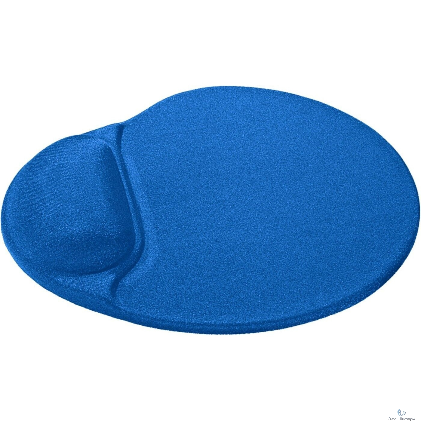 Defender Коврик для мыши Easy Work синий, 260х225х5 мм, лайкра [50916]