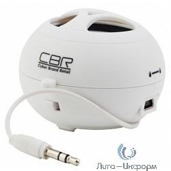 CBR CMS-100 White, 3Вт, Li-Ion, мобильная, регул. громк.