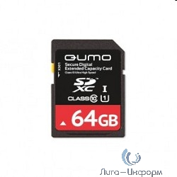 SecureDigital 64Gb QUMO QM64GSDXCcL10 {SDXC Class 10}