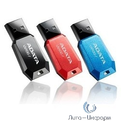 A-DATA Flash Drive 16Gb UV100 AUV100-16G-RBK {USB2.0, Black}