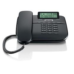Gigaset DA610 (IM) Black. Телефон проводной (черный)