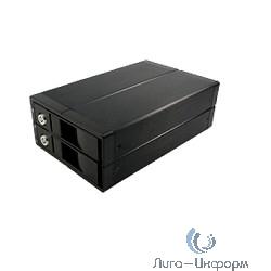 """AgeStar 3U2B3A USB 3.0 Внешний корпус 2x3,5"""" SATA AgeStar 3U2B3A USB3.0 алюминий, черный, RAID0/1, JBOD, BackUp"""