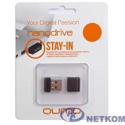 USB 2.0 QUMO 32GB NANO [QM32GUD-NANO-W] White
