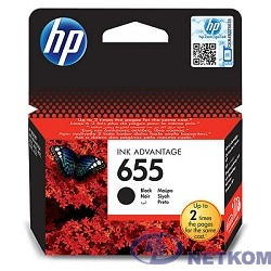 HP CZ109AE Картридж №655, Black {DeskJet IA 3525/5525/4615/4625, Black}