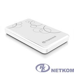 "Transcend Portable HDD 1Tb StoreJet TS1TSJ25A3W {USB 3.0, 2.5"", white}"