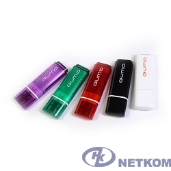 USB 2.0 QUMO 64GB Optiva 01 Violet [QM64GUD-OP1-violet]