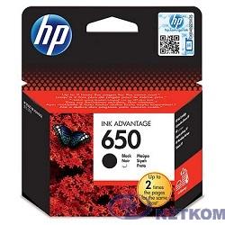 HP CZ101AE картридж №650, Black {DeskJet IA 2515/2516, Black}
