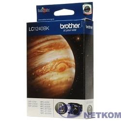 Brother LC-1240BK Картридж ,Black MFC-J6510/6910DW/J430W/J825DW/DCP-J525W, Black, (600стр)(LC1240BK)