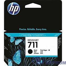 HP CZ129A Картридж №711, Black  {Designjet T120/T520, Black (38ml)}