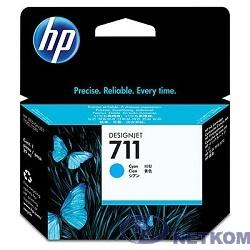 HP CZ130A Картридж №711, Cyan {Designjet T120/T520, Cyan (29ml)}