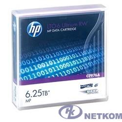 HPE C7976A, LTO-6 Ultrium 6.25TB RW Data Tape