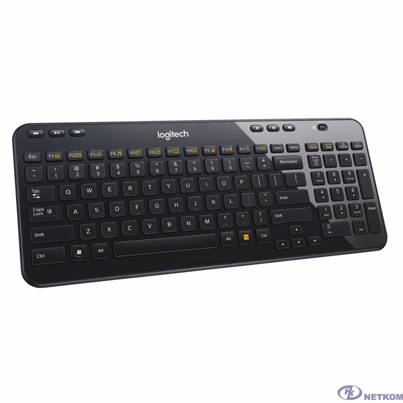 920-003095 Logitech Клавиатура K360 Black Wireless