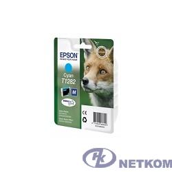 EPSON C13T12824011/C13T12824010/4012  T1282 Картридж голубой, C (cons ink)