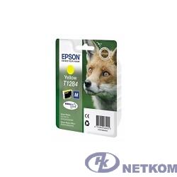 EPSON C13T12844011 / C13T12844010/4012  T1284 Картридж желтый, Y (cons ink)