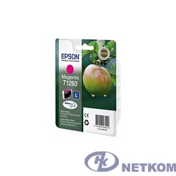 EPSON C13T12934011/4010/4012   Картридж для SX420W, SX425W,  SX525WD,  SX620FW, BX305F,  BX305FW,  BX320FW,  BX525WD,  BX625FWD, пурпурный, L (cons ink)