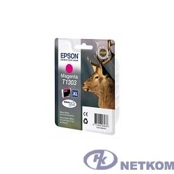 EPSON C13T13034010/4012  T1303 Картридж для Epson Stylus SX525WD/ SX620FW, Stylus Office BX320FW/BX525WD/ BX625FWD, пурпурный, XL (cons ink)