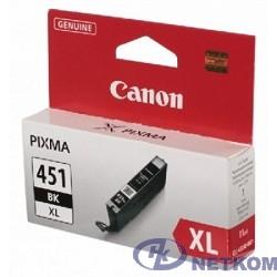 Canon CLI-451XLBK  6472B001 Картридж для PIXMA iP7240, MG5440, 6340, Черный, 4425стр.