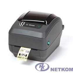 Zebra GK420t  [GK42-102520-000] Черный {TT Printer, 203 dpi, Euro and UK cord, EPL, ZPLII, USB, Serial, Centronics Parallel}