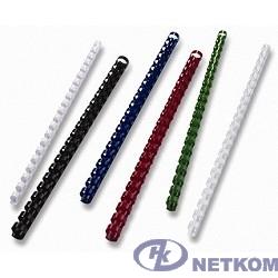 Office Kit Пластиковые пружины BP2011 (8 мм белые 100 шт.)
