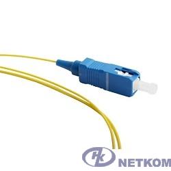 Hyperline FPT-B9-9-SC/UR-1M-LSZH-YL (FPT9-9-SC-UPC-1M) Пигтейл волоконно-оптический SM 9/125 (OS2), SC/UPC, 1 м, LSZH
