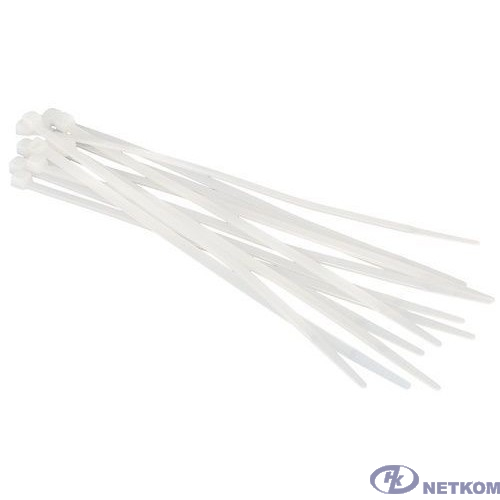 Hyperline GT-250IC Стяжка нейлоновая неоткрывающаяся, безгалогенная (halogen free), 250x3.6мм, (100 шт)