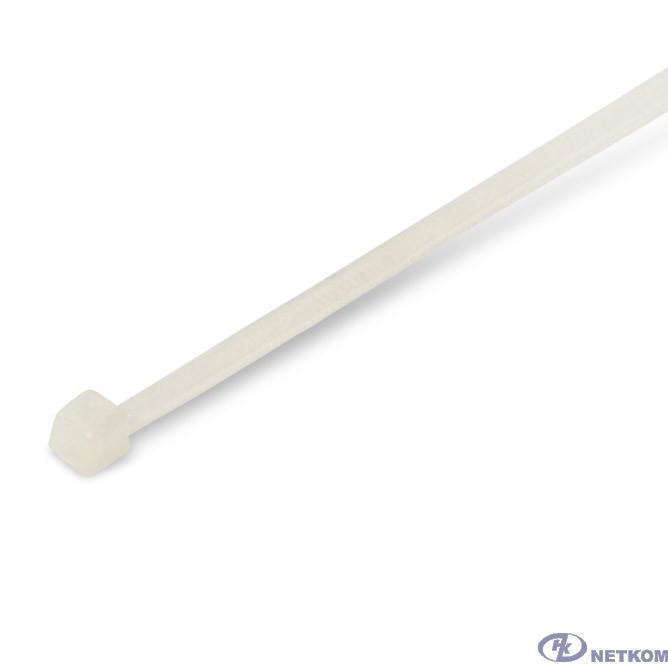 Hyperline GT-100MC Стяжка нейлоновая неоткрывающаяся, безгалогенная (halogen free), 100x2.5мм, (100 шт)